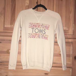 TOMS CREW SWEATSHIRT